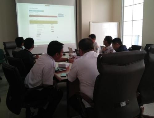 Sosialisasi e-Office Di Biro Kepala Daerah dan Kerjasama Luar Negeri Pemprov DKI Jakarta
